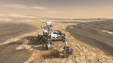 Mars Perseverance Rover Events