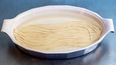 Soaking Pasta