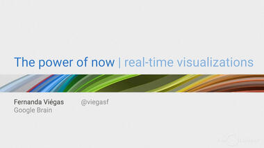 Co-director of Google's Big Picture team Fernanda Viégas describes how real-time data visualizations allow users to...