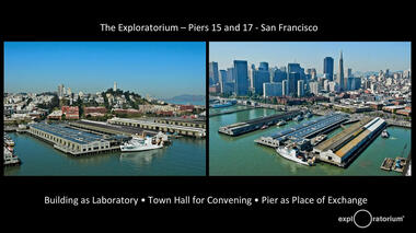 Exploratorium Senior Artist Susan Schwartzenberg describes the Fisher Bay Observatory, which focuses on environmental...