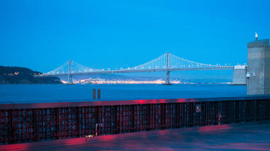 View of the Bay Bridge from the Observatory Terrace