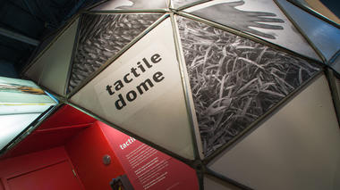 Tactile Dome: Original 1971 Press Release