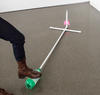 Science activity that experiments with rocket designs and a PVC launcher