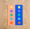 Science activity that demonstrates color perception illusion