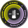 Webby Winner and People's Voice Award Winner in the 22nd Annual Webby Awards