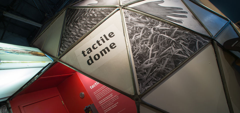 Exploratorium: The Tactile Dome