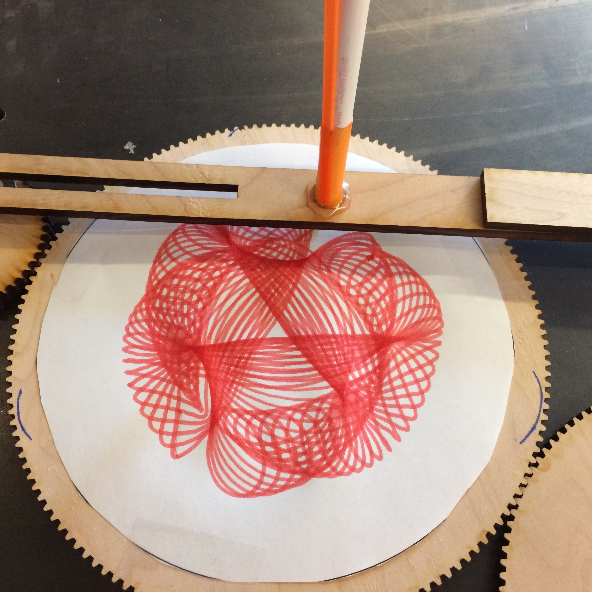 Cycloid Drawing Machine | Exploratorium