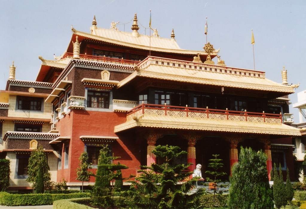 Tibetan temple in Sarnath