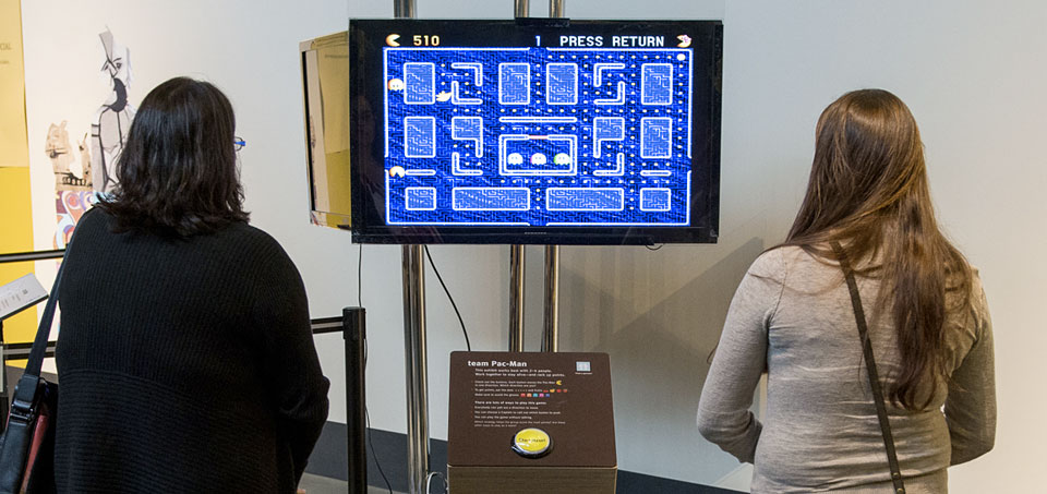 Exploratorium: Team Pac-Man